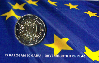 Coincard: 30 Years of the EU Flag (2015)