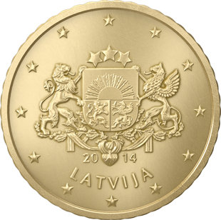 Latvia 50 Euro Cents